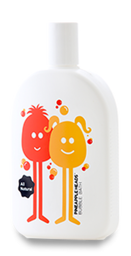 Pineapple Heads Bubble Bath