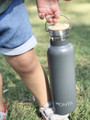 Montii Insulated Drink Bottles (600ml) - Grey