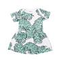 Milk & Masuki Bodysuit Dress - Foilage Meterage (LAST ONE LEFT - SIZE NEWBORN)
