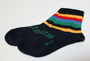 Lamington Merino Crew Socks - Boat Shed [FROM $15.90]