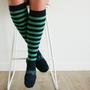 Lamington Woman's Merino Socks - Pier