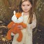 O.B. Designs Huggie - Phoebe Fox (Orange)