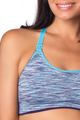 HOTmilk Vitality Yoga Nursing Bra - Blue