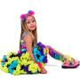 MADMIA Rainbow Pom Pom Headband