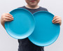 bobo&boo Large Dinner Plate Set - Coastal