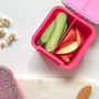 Little Lunch Box Co - Bento Two - Pink Glitter Limited Edition
