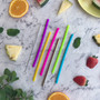 Montii Reusable Mini Straw Set