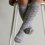 Lamington Merino Socks - Snowflake [PRICED FROM $14.90] (ONLY SIZE 4-6 YEARS LEFT)
