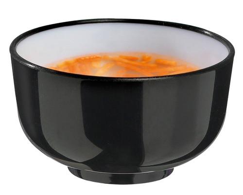 Solia Thai Mini Bowl 1 oz Black & White