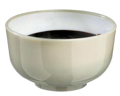 Solia Thai Mini Bowl 1 oz Beige & White