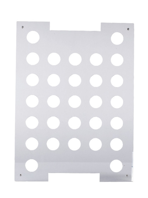 """Solia Groove Tray 15.4 x 11.4"""" for 29 1.7 oz Chef's Hat"""