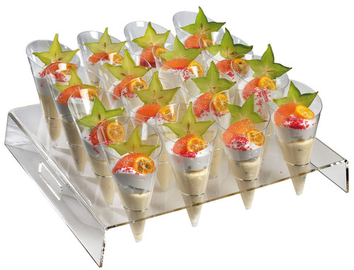 Square Buffet Display for 16 Large Cones (Case of 1 pc)