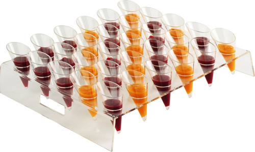 Square Buffet Display for 30 Small Cones (Case of 1 pc)