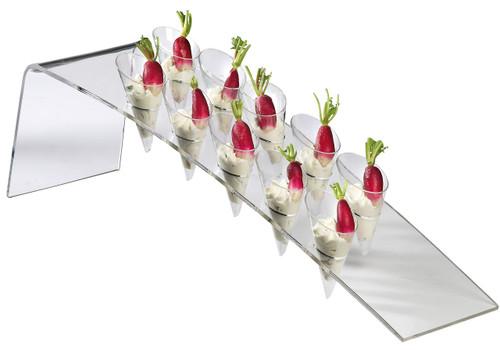 Solia Harp Buffet Display for 10 Small Cones