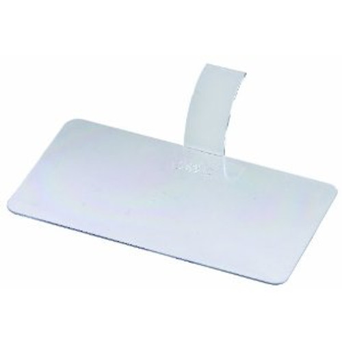 "Solia Rectangular 3.9 x 2.2"" Palet Dish Transparent"