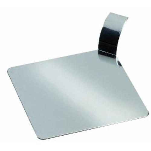 """Solia Square 3.1"""" Palet Dish Transparent"""