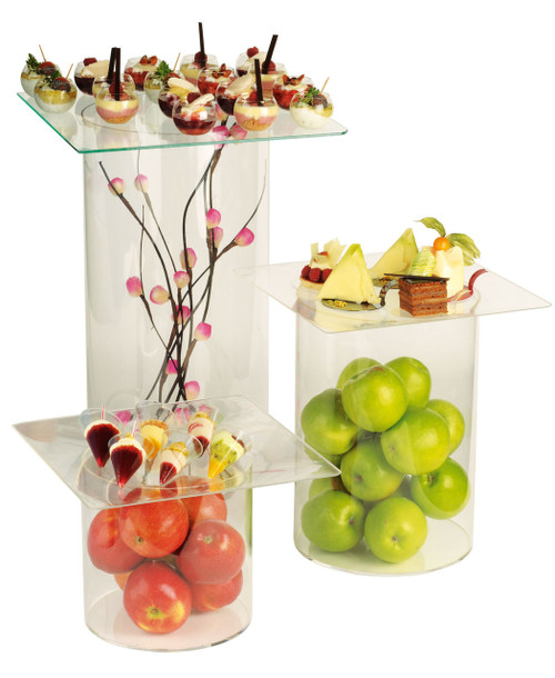 Tubes Buffet Display (Case of 3 Tubes, Trays Not Included (Case of 1 pc)