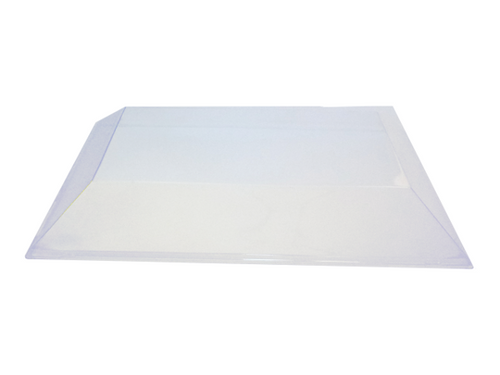 Solia Lid for Diamant 12 x 8'' Tray Clear