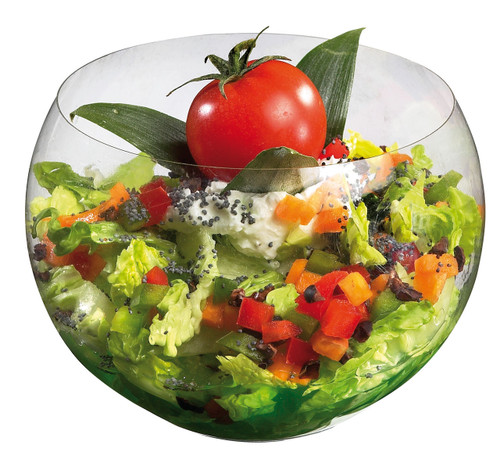Solia Sph'air 19 oz Salad Bowl Transparent
