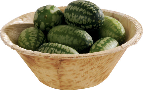 """Solia  Bamboo Leaf 3"""" Thermoformed Bowl (Case of 1000)"""
