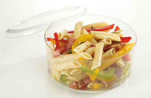 Bodega Salad plastic cup Clear 22 Oz - LID NOT INCLUDED (Case of 100 pc)