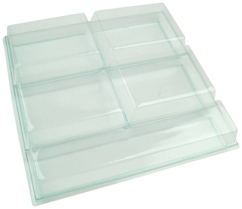 """Solia Lid for 12.2 X 12.2"""" Five Sections Tray"""