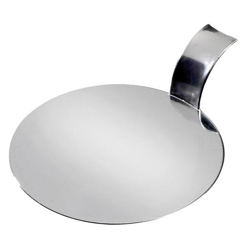 "Solia Disc 3.1"" Palet Dish Silver Metallized"