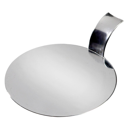 "Solia Disc 3.1"" Palet Dish Silver Metallized"