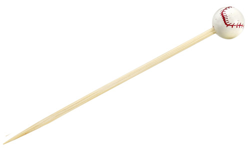 "Base Ball Skewer 3.9"" (Case of 2,000 pc)"