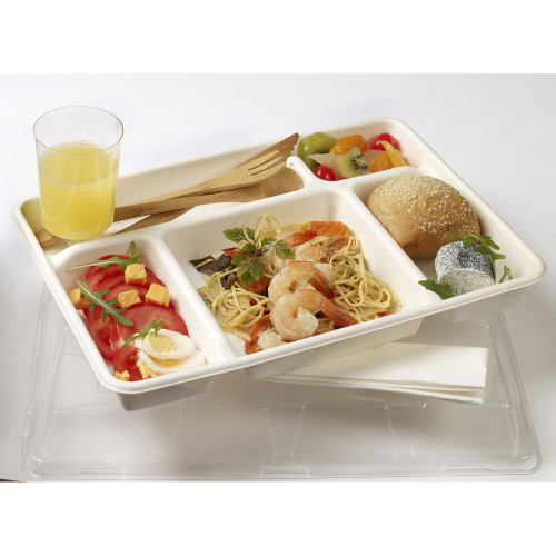 Lid for Five Section Pulp Tray (Case of 150 pc)