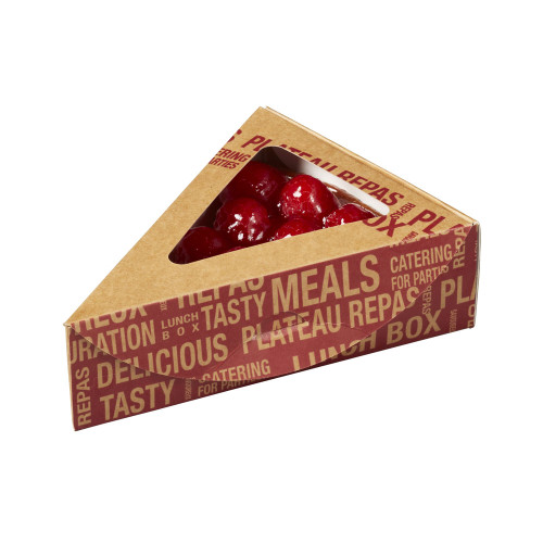 City Triangular Box Snacking 6.1 / 6.1 x 4.3 x 1.8 (Case of 500 pc)