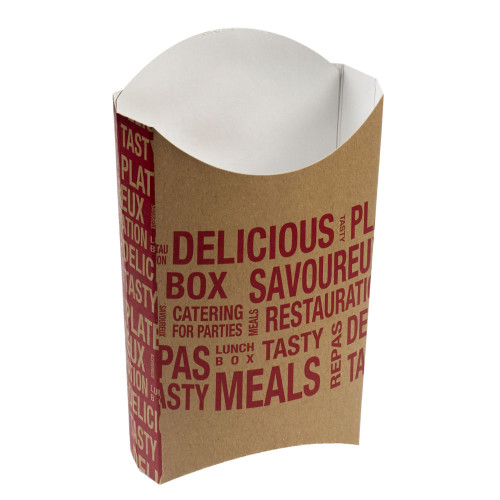 City French Fries Pocket 5.3x3.3x6.3 (Case of 1200 pc)
