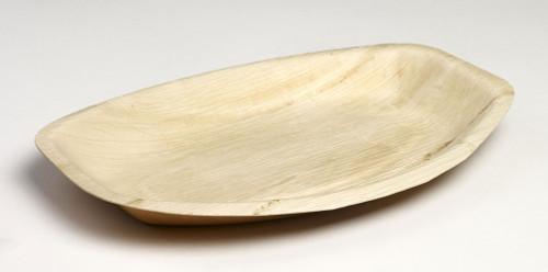 Palm Leaf Oval Plate Maui 11.4 x 7.5 x1 (Case of 100 pc)