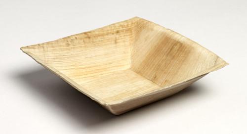 Palm Leaf Bowl Trinity 6.3 x 6.3 x 1.8 (Case of 100 pc)