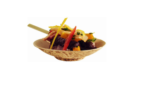 """Bamboo leaf cup 1,7 oz D3.3  H0.8""""  (Case of 1000 pc)"""