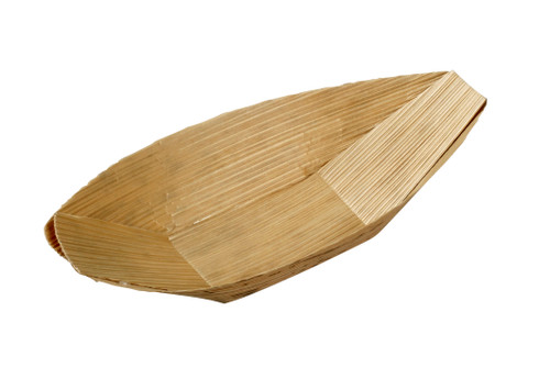 Bamboo Leaf Boat 3 x 1.6 x 0.4 (Case of 2000 pc)
