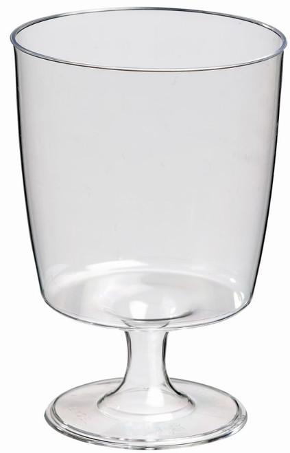Stemmed Plastic Glass 6.8 oz