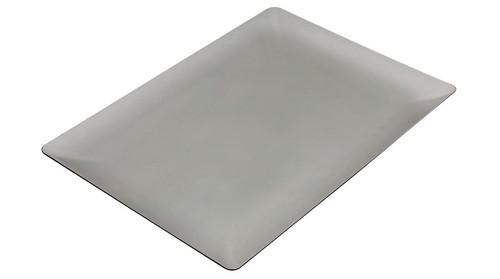 "Rectangular Fluid Plate 5.1 X 4.7"" Transparent"