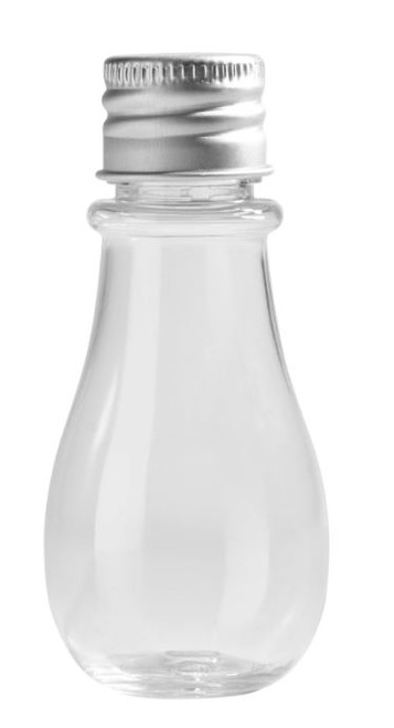 Olive Plastic Bottle 0.8 oz