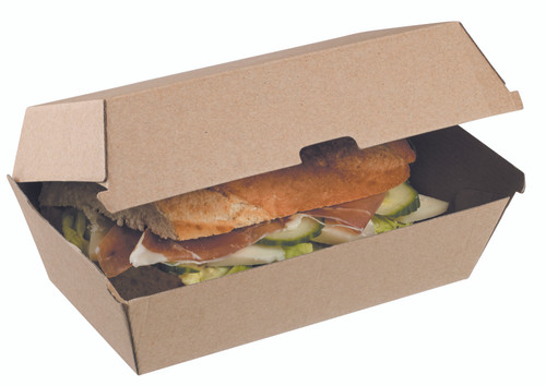 Cardboard punnet Nano-Kraft 155x125x76mm (Case of 200 pc)