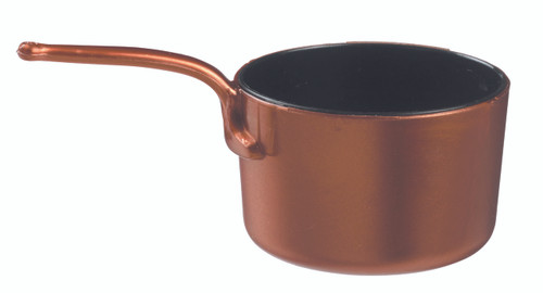 Eskoffie mini dish sauce pan copper-black 45ml / 1.5oz (Case of 240 pc)