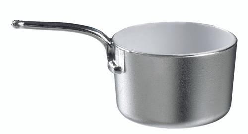 Eskoffie mini sauce pan silver-white 45ml / 1.5oz (Case of 240 pc)