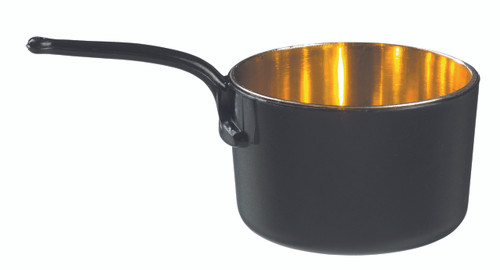 Eskoffie mini sauce pan black-gold 45ml / 1.5oz (Case of 240 pc)