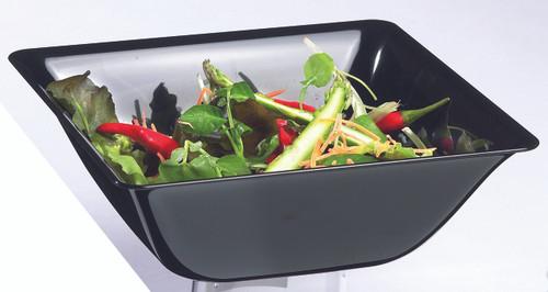 Fluid salad bowl Black 1400ml/47.3oz (Case of 60 pc)