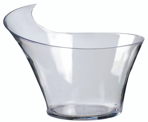 Wave mini dish cup transparent 80ml/2.7oz (Case of 200 pc)