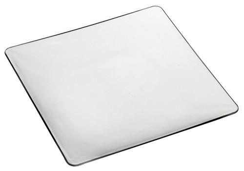 "Fluid plate Transparent 160x160mm / 6.3""x6.3"" (Case of 100 pc)"