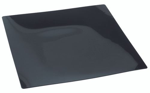 "Fluid plate Black 160x160mm / 6.3""x6.3"" (Case of 100 pc)"