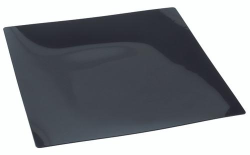 "Fluid plate Black 160x160mm / 6.3""x6.3"" (Case of 100 pc)"