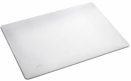 "Fluid Plate rectangular transparent 90x60x9mm / 3.5 x 2.4""(Case of 200 pc)"