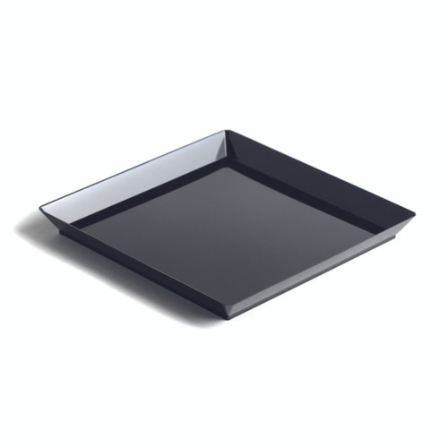 "Quartz plate Black 160x160mm / 6.2x6.2"" (Case of 200 pc)"